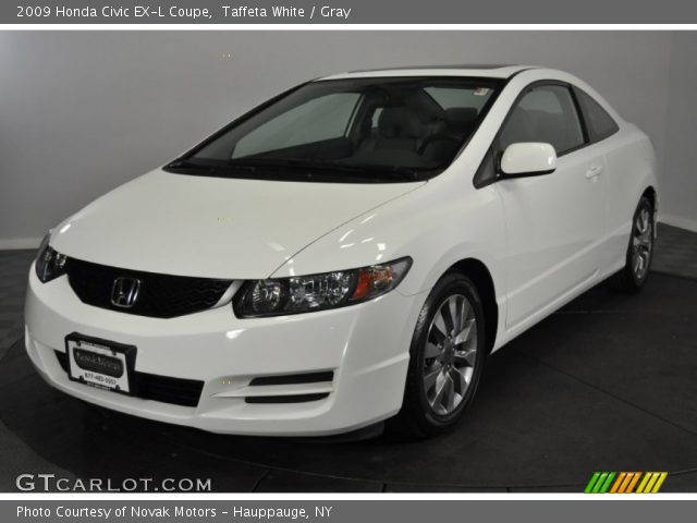 taffeta white 2009 honda civic ex l coupe gray interior vehicle archive. Black Bedroom Furniture Sets. Home Design Ideas