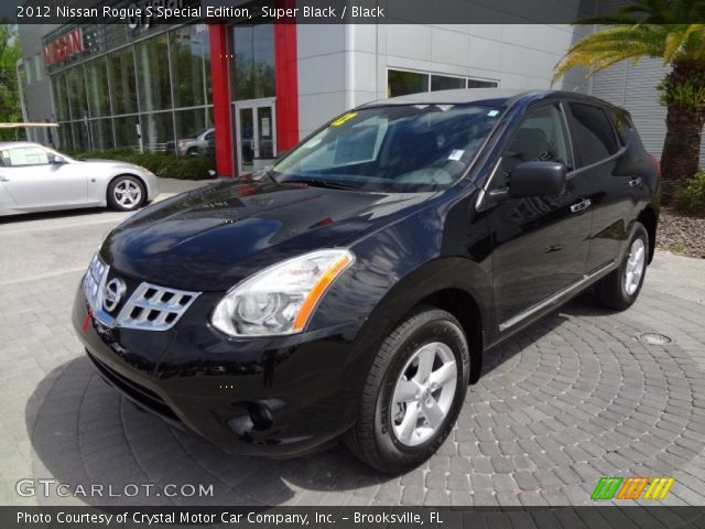 Super black 2012 nissan rogue s special edition black - 2012 nissan rogue exterior colors ...