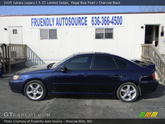 regal blue pearl 2005 subaru legacy 2 5 gt limited sedan. Black Bedroom Furniture Sets. Home Design Ideas