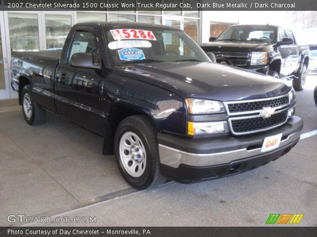 2007 Chevrolet Silverado 1500 Classic Work Truck Regular Cab in Dark Blue Metallic