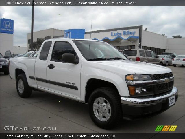 2004 Chevrolet Colorado Extended Cab in Summit White