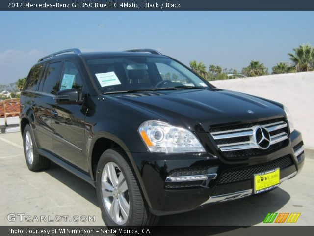 black 2012 mercedes benz gl 350 bluetec 4matic black. Black Bedroom Furniture Sets. Home Design Ideas