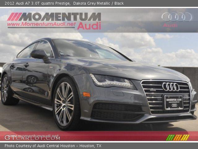 2012 Audi A7 3.0T quattro Prestige in Dakota Grey Metallic