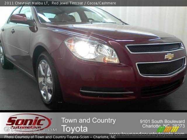 2011 Chevrolet Malibu LT in Red Jewel Tintcoat
