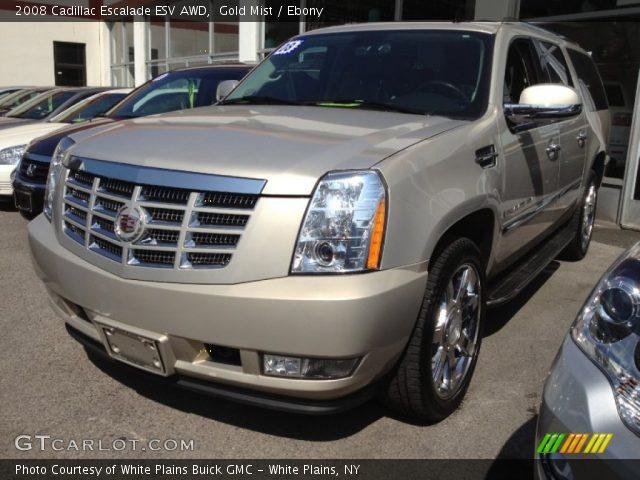 Gold Mist - 2008 Cadillac Escalade Esv Awd