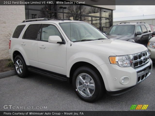 2012 ford escape limited v6 4wd in white suede click to see large. Cars Review. Best American Auto & Cars Review