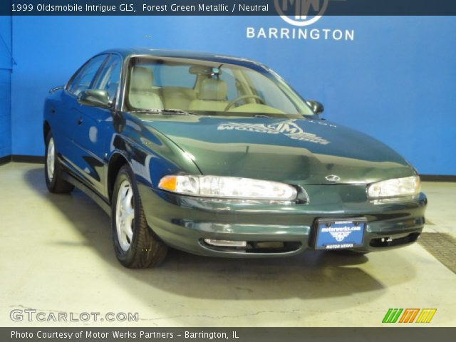 1999 Oldsmobile Intrigue GLS in Forest Green Metallic