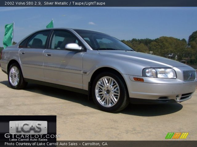 silver metallic 2002 volvo s80 2 9 taupe lighttaupe. Black Bedroom Furniture Sets. Home Design Ideas