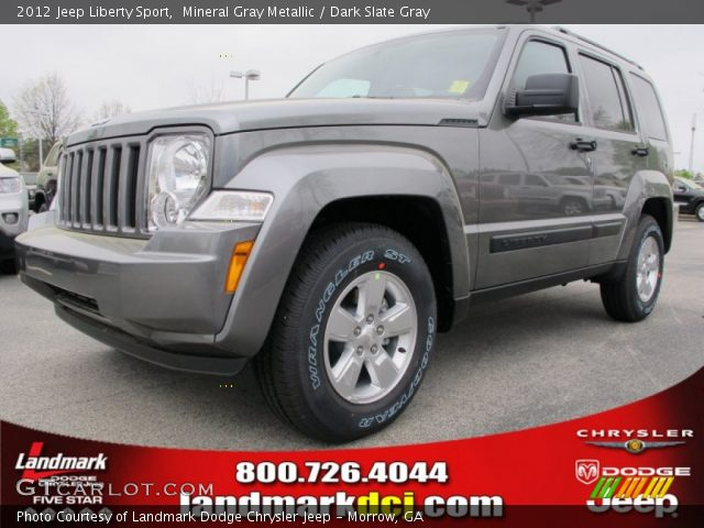 mineral gray metallic 2012 jeep liberty sport dark. Black Bedroom Furniture Sets. Home Design Ideas