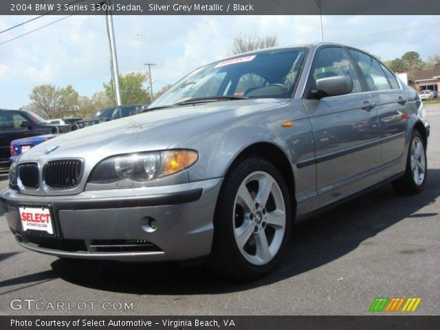 silver grey metallic 2004 bmw 3 series 330xi sedan. Black Bedroom Furniture Sets. Home Design Ideas