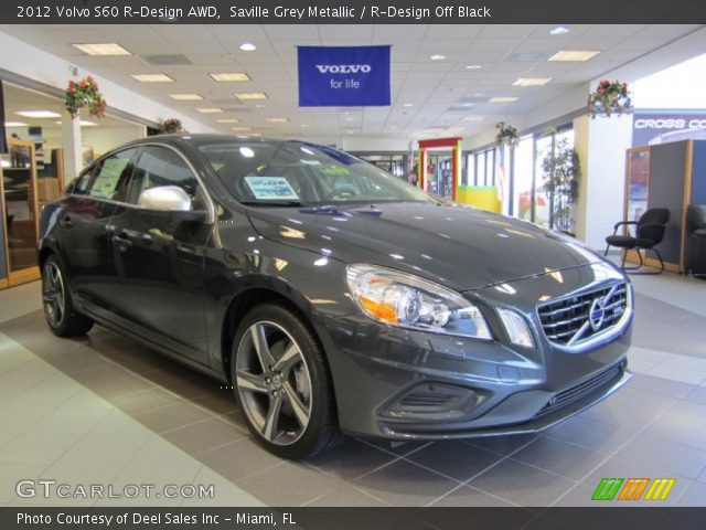 2012 Volvo S60 R-Design AWD in Saville Grey Metallic