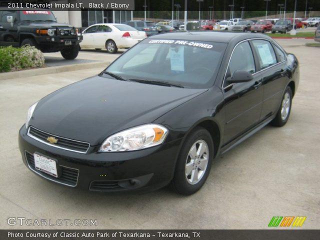 Black 2011 Chevrolet Impala Lt Ebony Interior Vehicle Archive 62714822