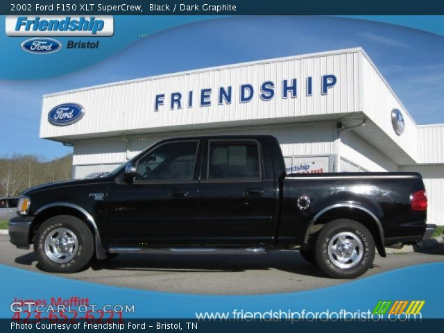 black 2002 ford f150 xlt supercrew dark graphite. Black Bedroom Furniture Sets. Home Design Ideas