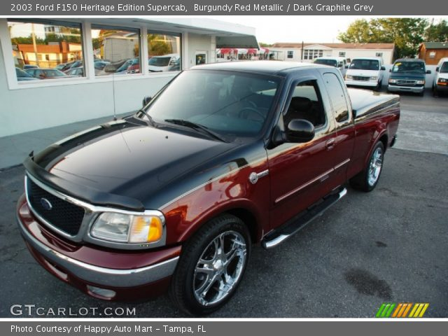2003 Ford F150 Heritage Edition Supercab in Burgundy Red Metallic