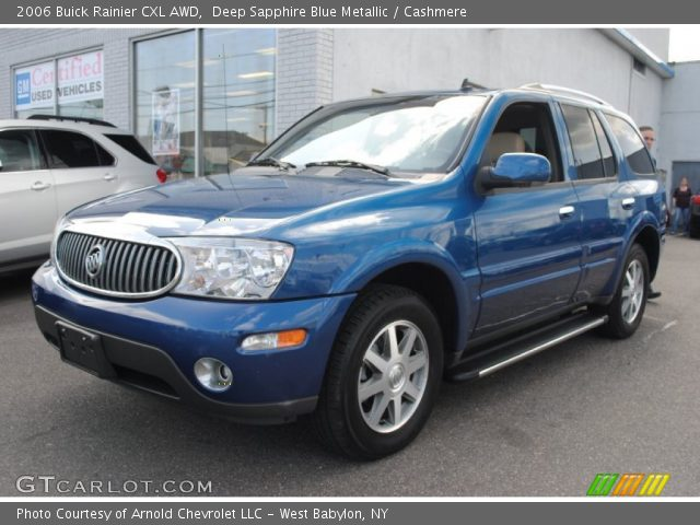 2006 Buick Rainier CXL AWD in Deep Sapphire Blue Metallic