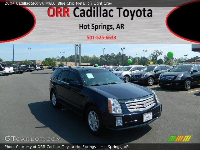 2004 Cadillac SRX V6 AWD in Blue Chip Metallic
