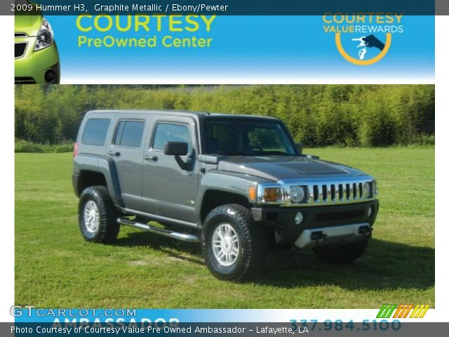 2009 Hummer H3  in Graphite Metallic