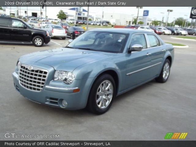 clearwater blue pearl 2009 chrysler 300 c hemi dark slate gray interior. Black Bedroom Furniture Sets. Home Design Ideas