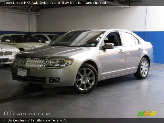 2009 Lincoln MKZ AWD Sedan in Vapor Silver Metallic