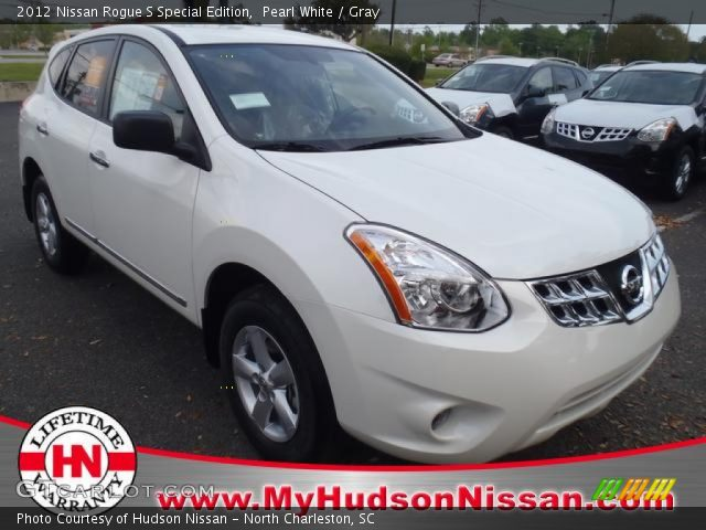 Pearl white 2012 nissan rogue s special edition gray - 2012 nissan rogue exterior colors ...