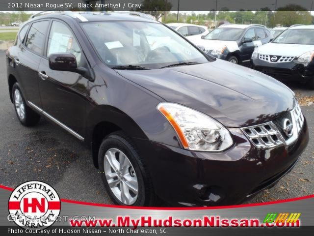 Black amethyst 2012 nissan rogue sv gray interior - 2012 nissan rogue exterior colors ...