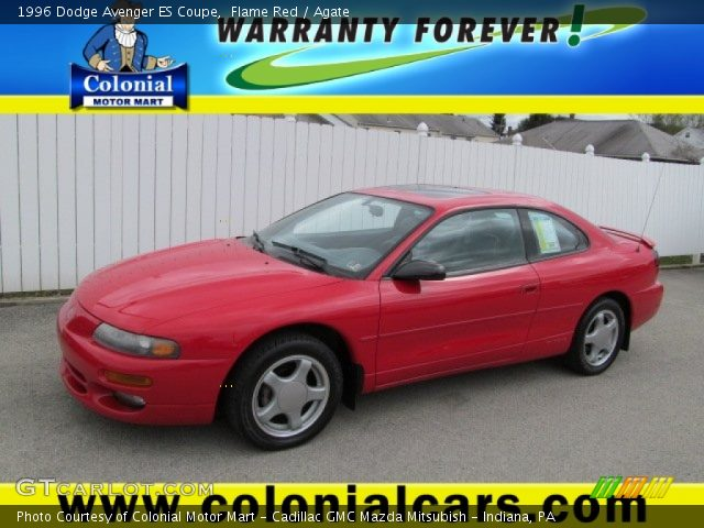 flame red 1996 dodge avenger es coupe agate interior. Black Bedroom Furniture Sets. Home Design Ideas