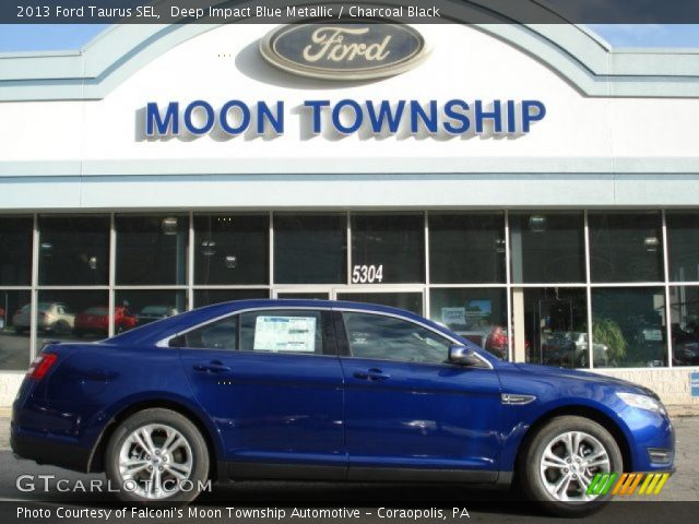 2013 Ford Taurus SEL in Deep Impact Blue Metallic