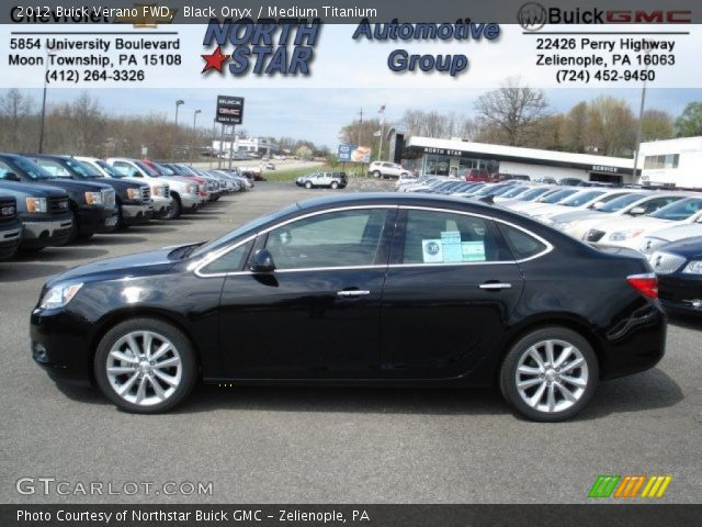 2012 Buick Verano FWD in Black Onyx