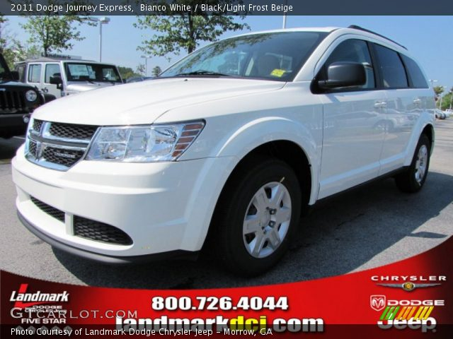 bianco white 2011 dodge journey express black light. Black Bedroom Furniture Sets. Home Design Ideas