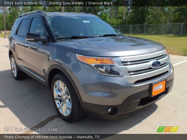 2013 Ford Explorer XLT in Sterling Gray Metallic. Click to see large