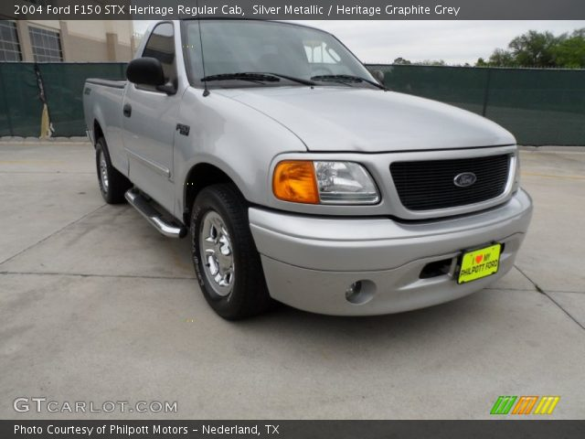 silver metallic 2004 ford f150 stx heritage regular cab. Black Bedroom Furniture Sets. Home Design Ideas