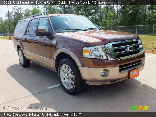 golden bronze metallic 2012 ford expedition el king. Black Bedroom Furniture Sets. Home Design Ideas