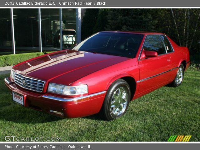 Crimson Red Pearl 2002 Cadillac Eldorado Esc Black Interior Vehicle Archive