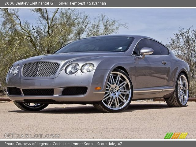 2006 bentley continental gt in silver tempest click to see large. Cars Review. Best American Auto & Cars Review