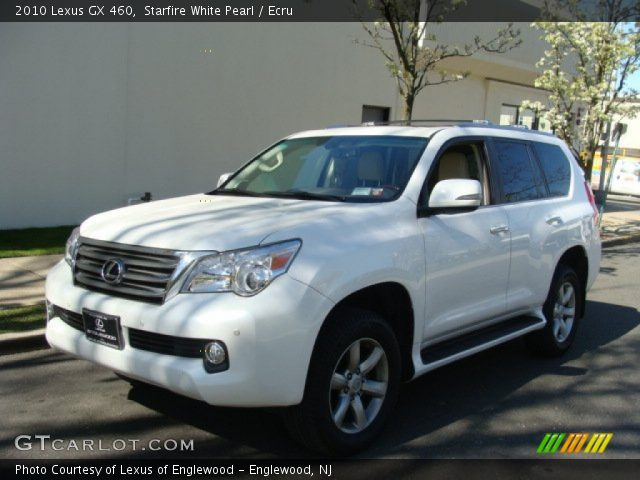 starfire white pearl 2010 lexus gx 460 ecru interior. Black Bedroom Furniture Sets. Home Design Ideas