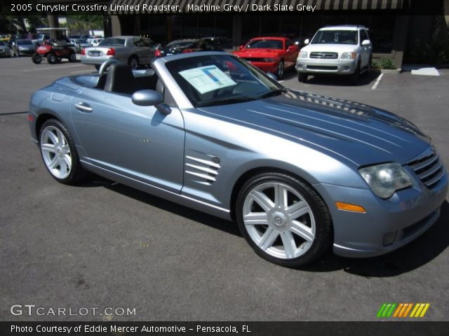 Purchase Used Chrysler Crossfire Convertible Grey: 2005 Chrysler Crossfire Limited Roadster