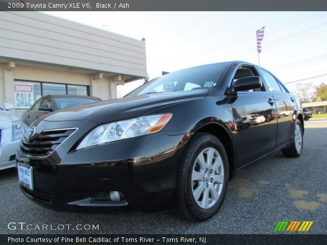 black 2009 toyota camry xle v6 ash interior vehicle archive 63451126. Black Bedroom Furniture Sets. Home Design Ideas