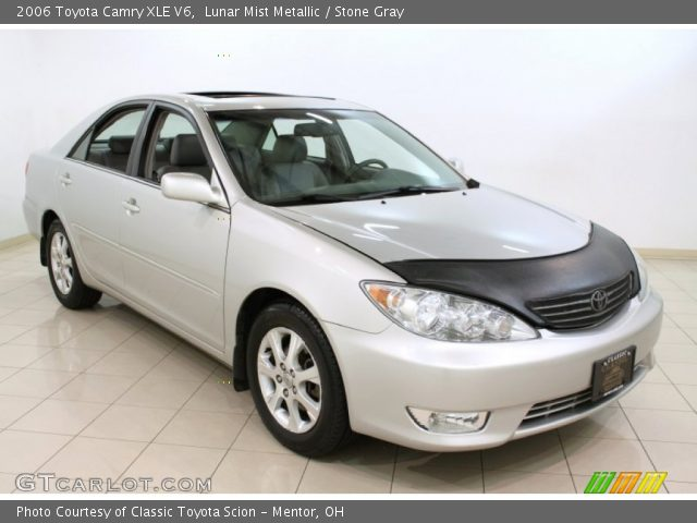 lunar mist metallic 2006 toyota camry xle v6 stone gray interior gtcarl. Black Bedroom Furniture Sets. Home Design Ideas