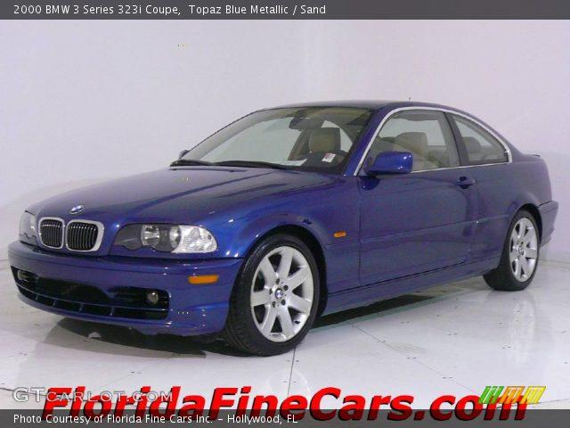 2000 BMW 3 Series 323i Coupe in Topaz Blue Metallic