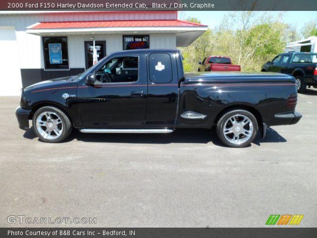 black 2000 ford f150 harley davidson extended cab dark graphite interior. Black Bedroom Furniture Sets. Home Design Ideas