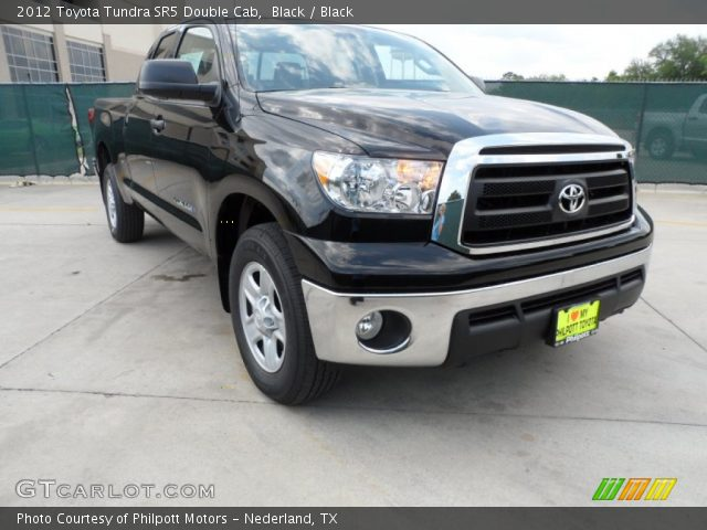 black 2012 toyota tundra sr5 double cab black interior vehicle archive. Black Bedroom Furniture Sets. Home Design Ideas