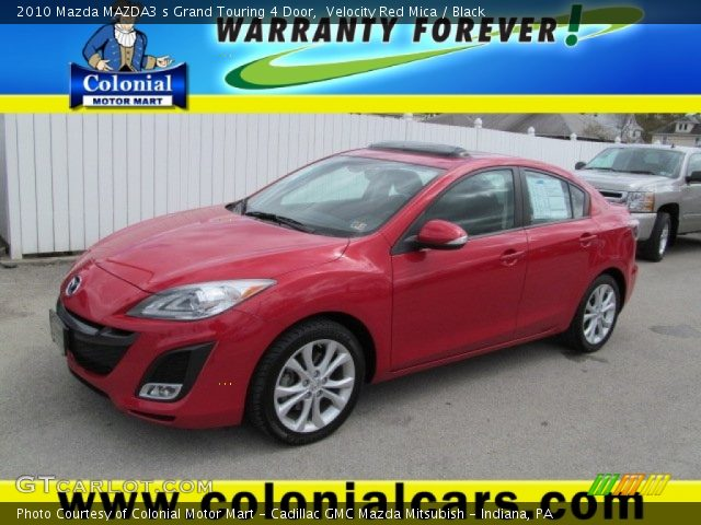 velocity red mica 2010 mazda mazda3 s grand touring 4. Black Bedroom Furniture Sets. Home Design Ideas