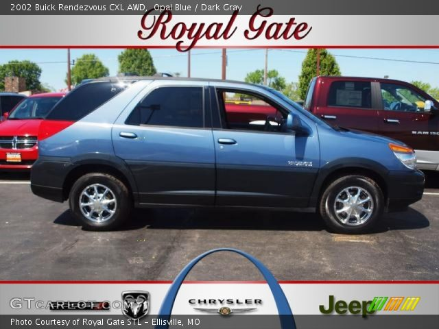 2002 Buick Rendezvous CXL AWD in Opal Blue