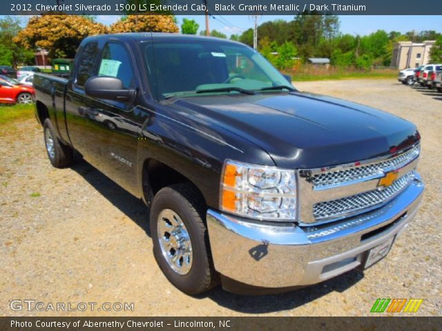 2012 Chevrolet Silverado 1500 LS Extended Cab in Black Granite Metallic