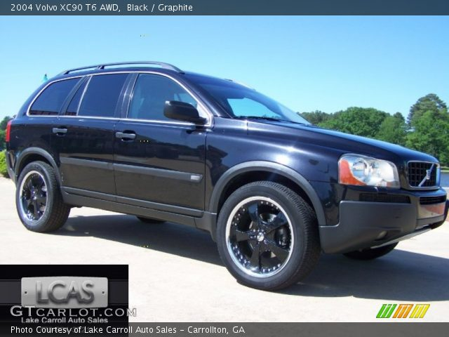 2004 Volvo XC90 T6 AWD in Black