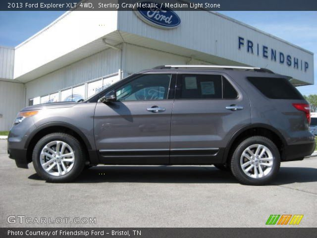 2013 Ford Explorer Xlt Gray 2013 ford explorer xlt 4wd in