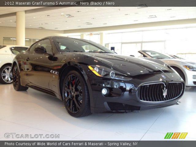 2012 Maserati GranTurismo S Automatic in Nero (Black)