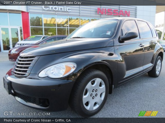 black 2007 chrysler pt cruiser pastel slate gray. Black Bedroom Furniture Sets. Home Design Ideas