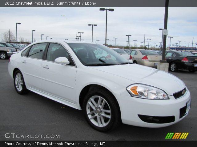 2014 Chevy Impala Ltz For Sale Summit White - 2012 Chevrolet Impala LTZ - Ebony Interior | GTCarLot ...