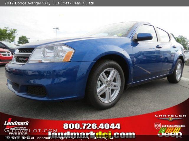 Blue streak pearl 2012 dodge avenger sxt black interior vehicle archive for 2012 dodge avenger interior lights